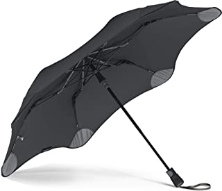 """BLUNT Metro Travel Umbrella with 37"""" Canopy and Wind Resistant Radial Tensioning System"""