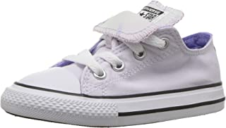 Converse Kids' Double Tongue Palm Trees Low Top Sneaker