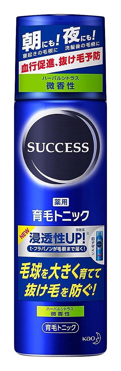 ブルジョンジュース接続サクセス 薬用育毛トニック 微香性 180g ×6個
