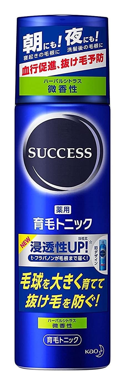 天使マニフェスト乳剤サクセス 薬用育毛トニック 微香性 180g ×6個