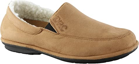 Dr. Comfort Relax Men's Slippers Camel - 9 Wide
