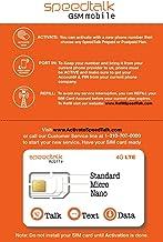 SpeedTalk Mobile Complete Multi-Purpose Triple Cut SIM Card Starter Kit – No..