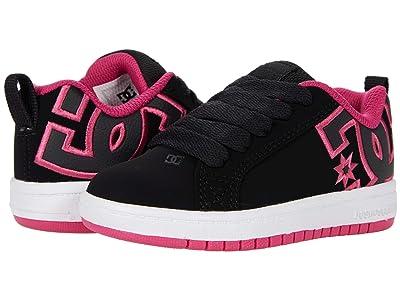 DC Kids Court Graffik (Little Kid/Big Kid) Girls Shoes