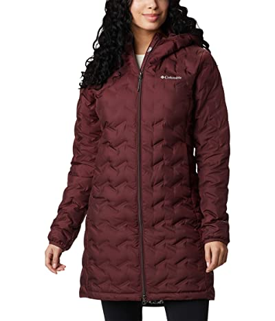 Columbia Delta Ridge Long Down Jacket (Seminole) Women