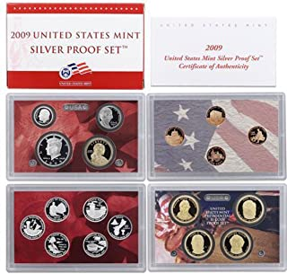 2009 S US Mint Silver Proof Set