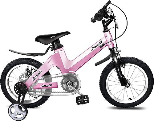 muy popular NiceC Bicicleta para Niños BMX BMX BMX con Freno de Disco Doble para Niños y niñas, Ruedas de Entrenamiento de 14 a 16 Pulgadas  ordene ahora los precios más bajos