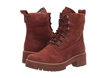 Timberland Courmayeur Valley 6 Boot (Rust Nubuck) Women