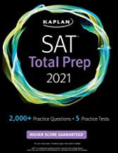 SAT Total Prep 2021: 5 Practice Tests + Proven Strategies + Online + Video