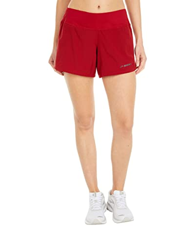 Brooks Chaser 5 Shorts (Beet) Women