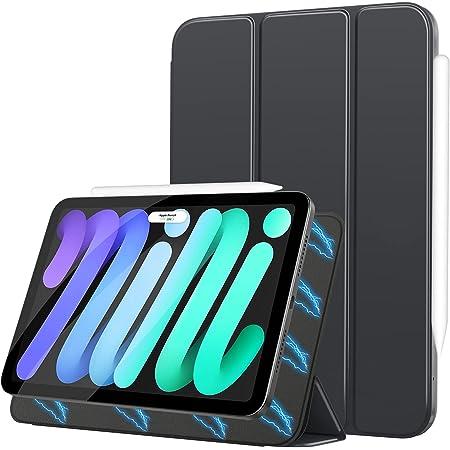 MoKo Case Fit New iPad Mini 6, iPad Mini 6th Generation Case 2021, Magnetic Smart Folio Case Slim Lightweight Protective Shell Stand Fit iPad Mini 6 8.3-inch, Auto Wake/Sleep Space Gray