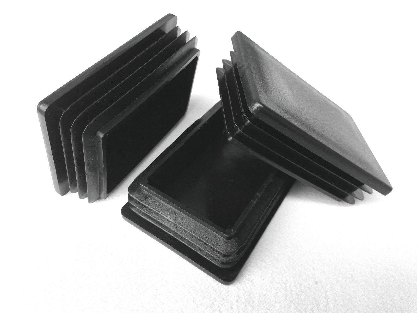80 x 120 mm 10 x 20 mm 10 tapones rectangulares//tapones de tubo