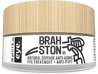 BRAHSTON   NATURAL DEFENSE ANTI-AGING EYE TREATMENT + ANTI-PUFF   Organic + 98% Natural   Strong + Effective   Clear, Cool...