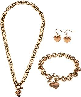 Best popular heart necklace Reviews