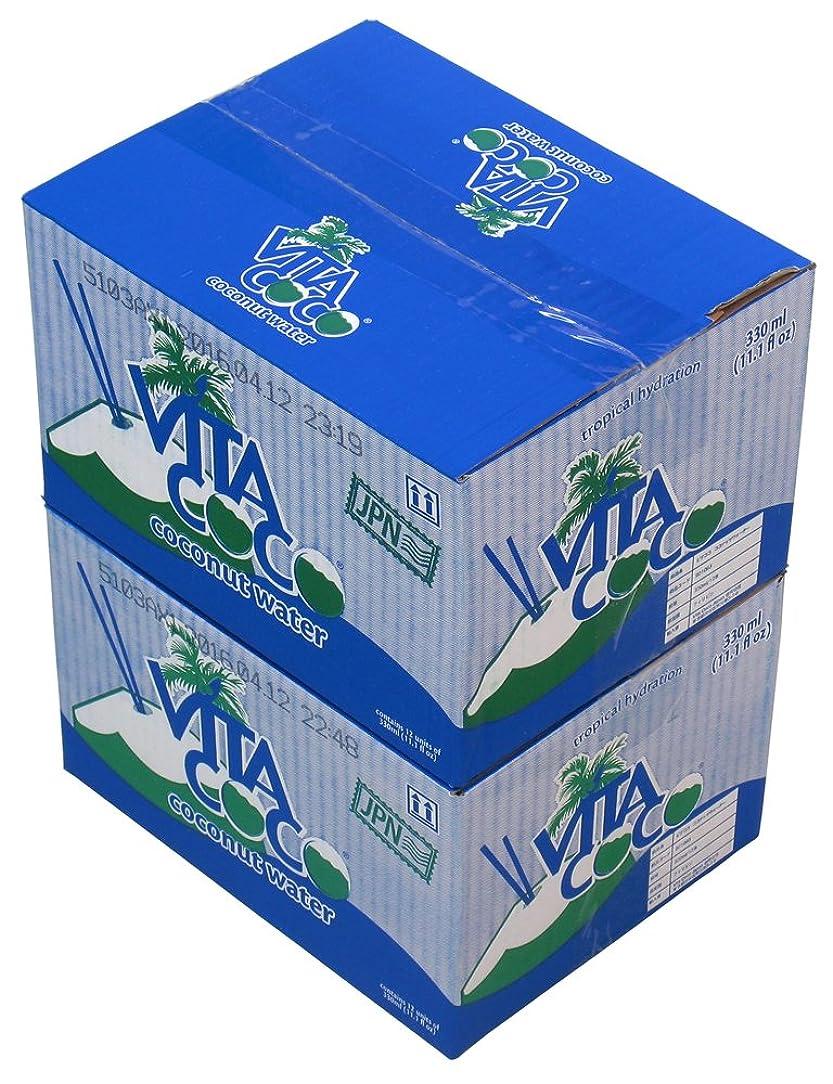 タウポ湖滑り台コールドVita Coco(ビタココ) ココナッツウォーター 12本入り×2ケース