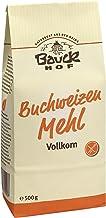 Bauckhof Buchweizenmehl Vollkorn, 2er Pack 2 x 500 g Tüte - Bio