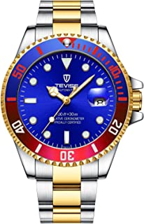 TEVISE Brand Men Mechanical Watch Fashion Waterproof Automatic T801 SGB
