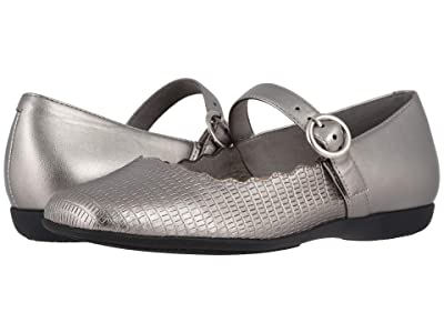 Trotters Sugar (Pewter Lizard) Women