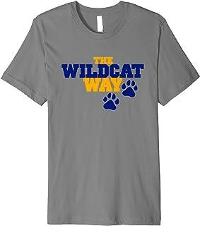 Johnson & Wales University JWU Wildcats NCAA T-Shirt PPJWU08