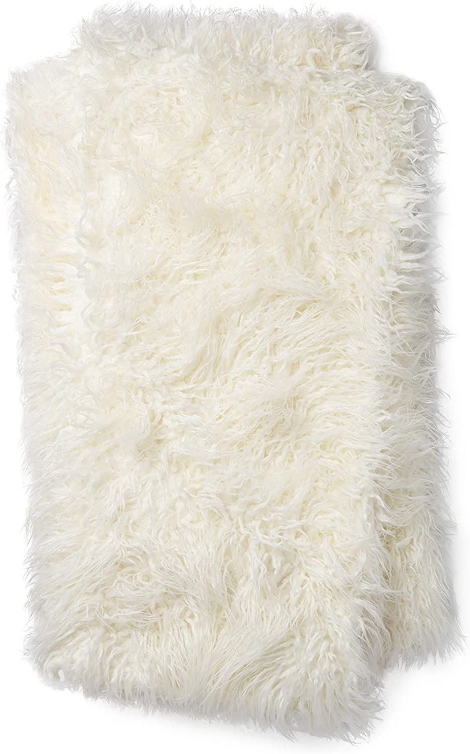 Now House by Jonathan Adler, Faux Mongolian Throw