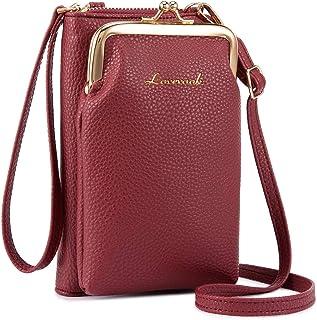LOVEVOOK Handytasche zum Umhängen, Damen Handy Umhängetasche mit Geldbörse, Damen Umhänge Handy Tasche Crossbody Clutch Sc...