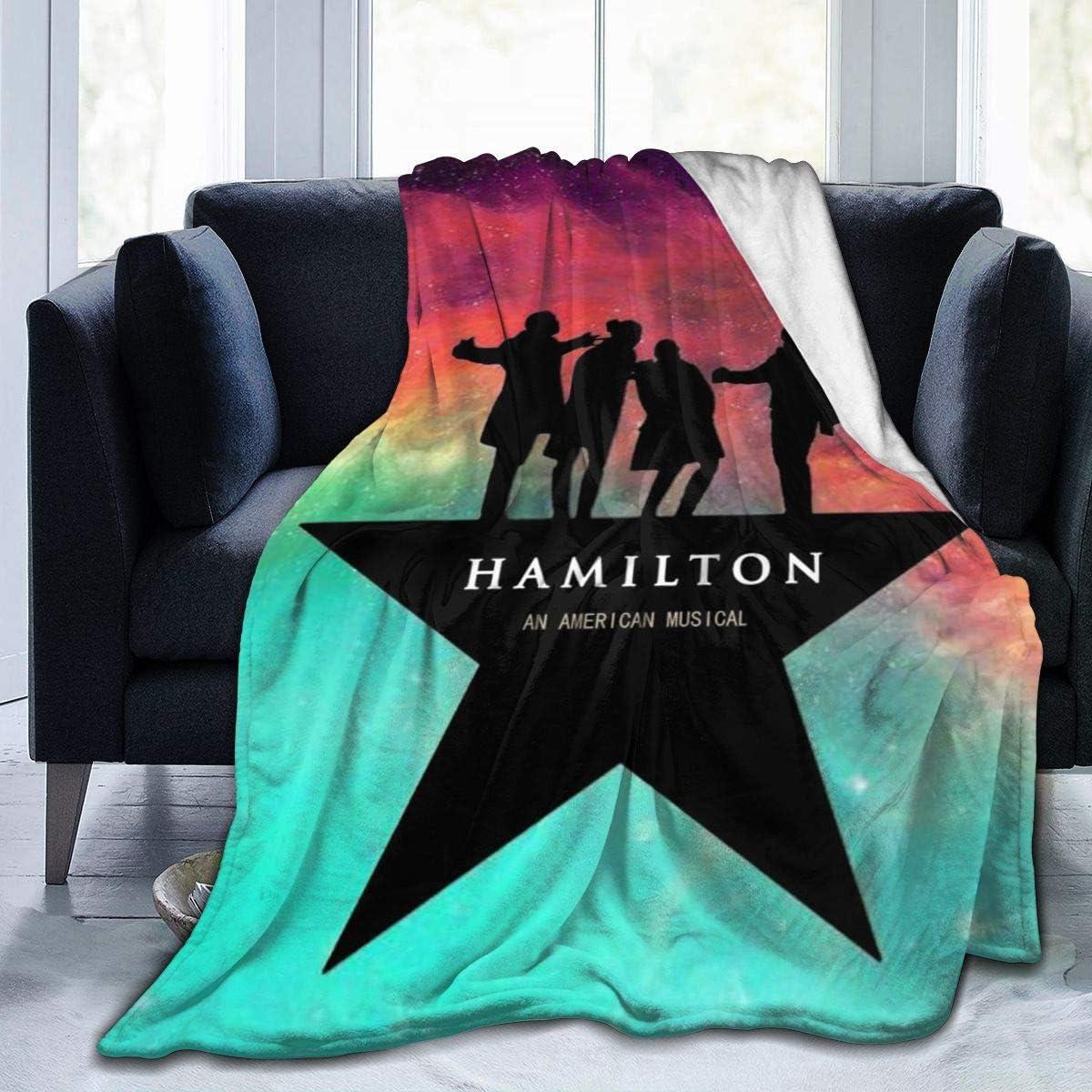 customgogo Hamilton The 2020 新作 Musical Blanket Flannel 新品■送料無料■ Ul Throw