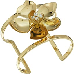 Statement Flower T-Cuff Bracelet