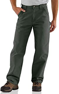 Men's Washed Duck Work Dungaree Pant