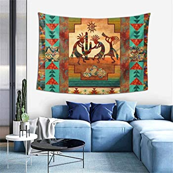 Amazon.com: Msanlixian Wall Hanging Decoration Tapestries Southwest Kokopelli Native American Wall Tapestry For Dorm Living Room Bedroom Blanket Wall Art Home Decor 60 X 40 Inch: Home & Kitchen