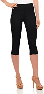 Best black fitted capri pants Reviews