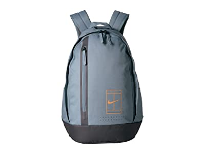Nike Court Advantage Tennis Backpack (Aviator Grey/Thunder Grey/Fuel Orange) Backpack Bags