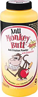 Original Anti Monkey Butt | Men's Body Powder with Talc | Fights Friction and Absorbs Sweat | 6 Ounces