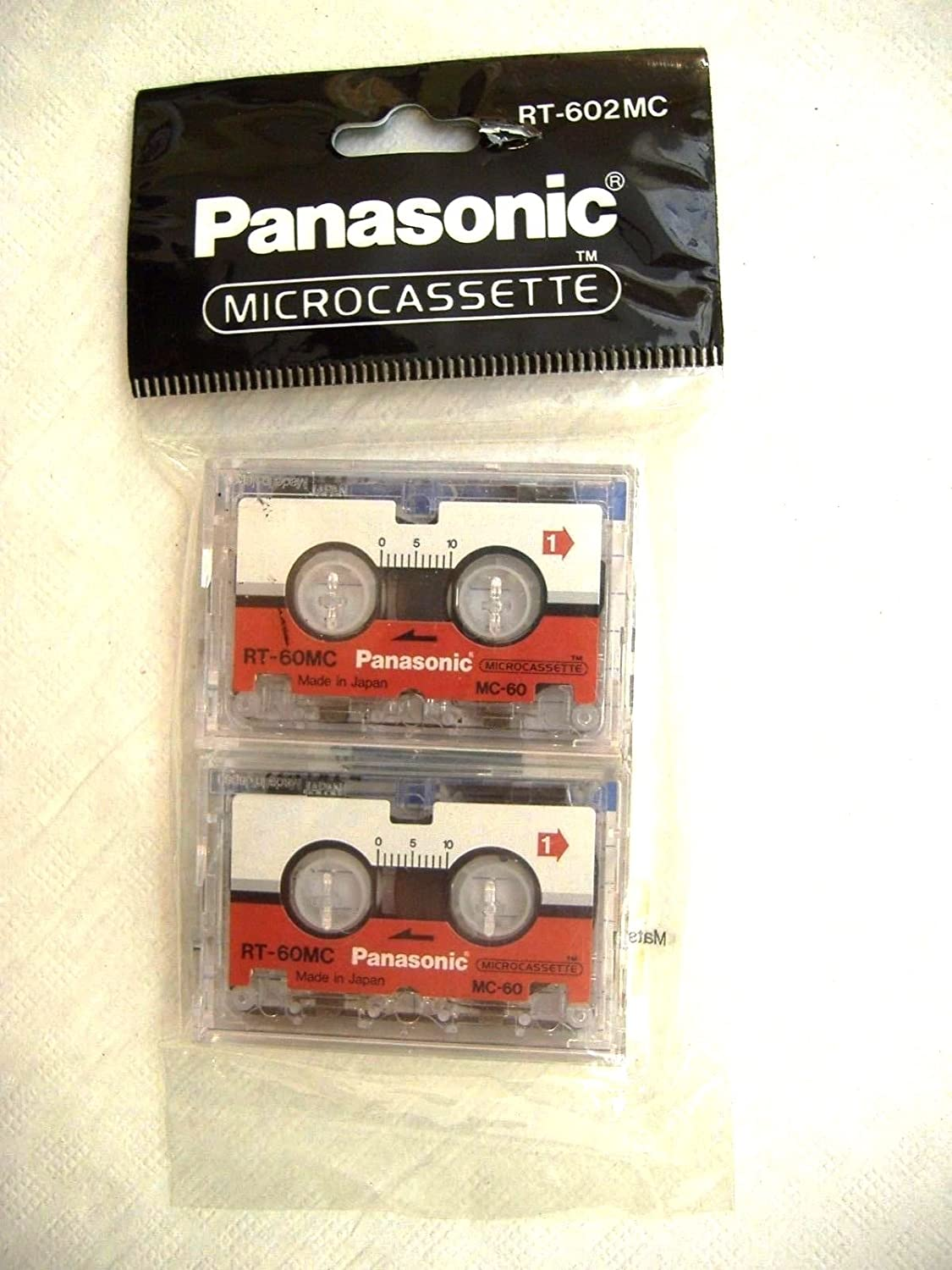 PANASONIC RT-60 2MC Audiocassette 2 RT602MC Special Popular brand in the world price for a limited time D Pack