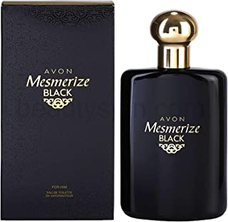 AVON Mesmerize Black Eau de Toilette Natural Spray For Him 100ml - 3.4oz