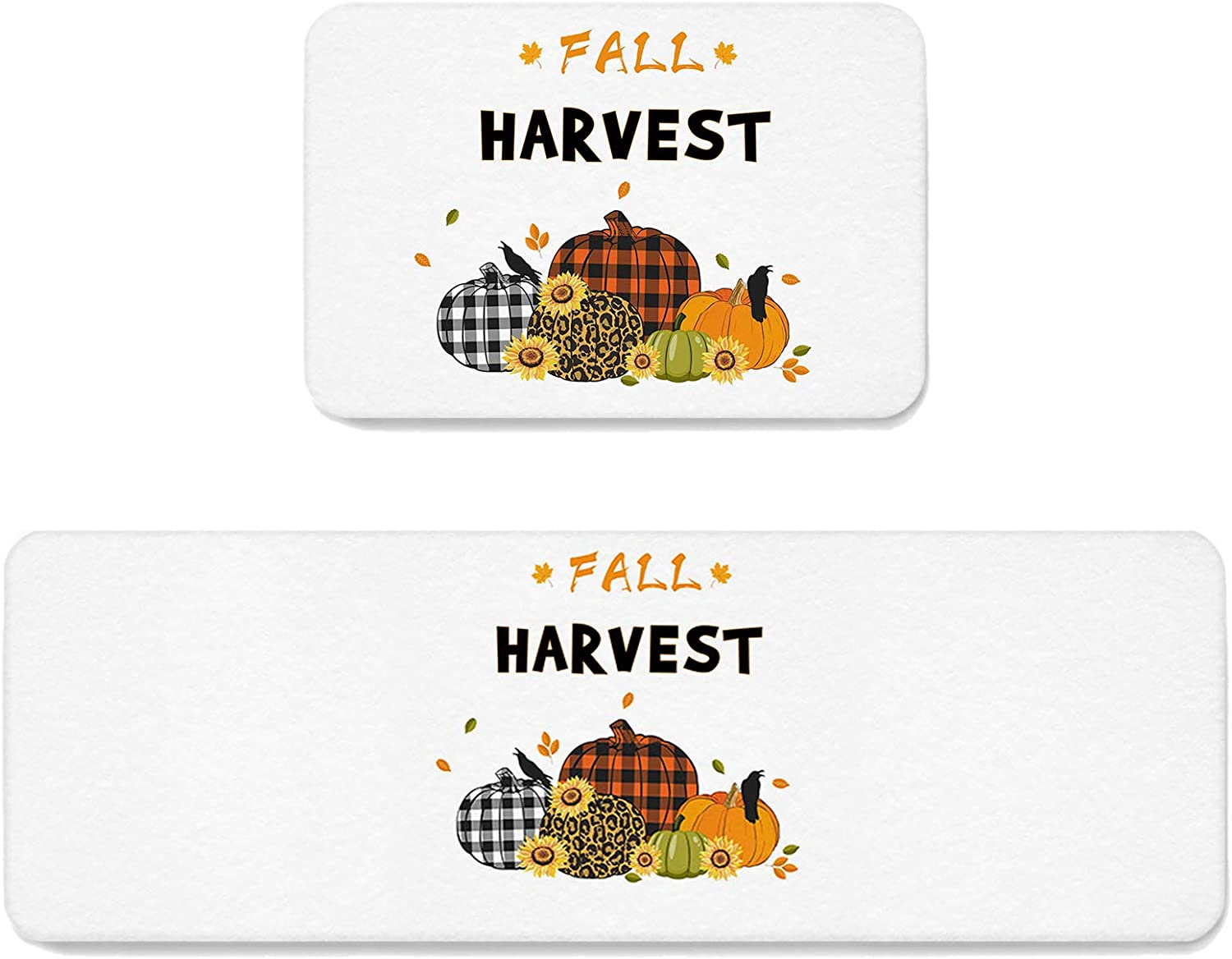 Kitchen Mat Set of 2 Rug Sale item Anti-Fatigue Fall Thanksgiving Direct store