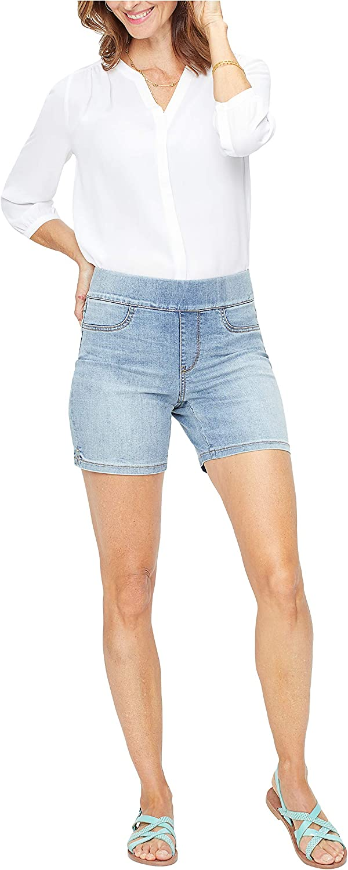 NYDJ Women's Misses Denim 7 Inch Pull on Shorts