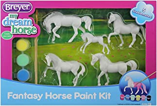 (Fantasy Horse Paint Kit) - Breyer Stablemates My Dream Horse Fantasy Horse Paint Kit with 5 Horses