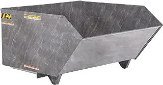 Vestil H-50-HD-GAL Self Dumping Hopper Hd, 0.5 cu. yd, 6000 lb. Capacity, 51.25
