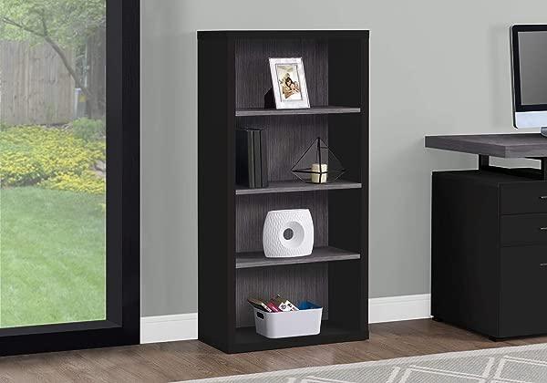 Monarch Specialties 7407 Bookcase Black