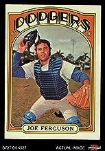 1972 Topps # 616 Joe Ferguson Los Angeles Dodgers (Baseball Card) Dean's Cards 5 - EX Dodgers