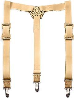 fornire un sacco di prese di fabbrica moda firmata Amazon.it: papillon legno - Bretelle / Accessori: Abbigliamento