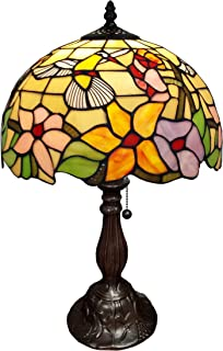 tiffany hummingbird table lamp