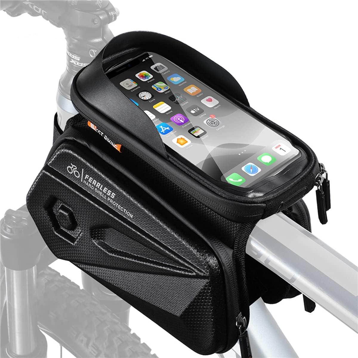 GELEI Bike SALENEW very popular Max 46% OFF Bag Waterproof Top Frame Mountai Front Phone Tube