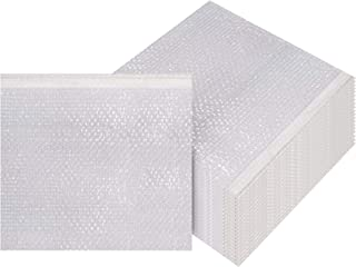 Bubble Out Bags 12 x 11.5 Clear Cushioned Pouches 12 x 11 1/2 by Amiff. Pack of 20 Bubble Pouch Bags. Self-Sealing. Mailing, Shipping, Packing, Packaging, Storage and Moving.