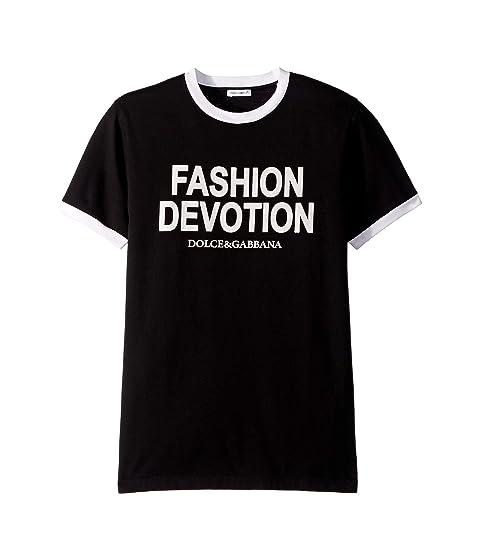 Dolce & Gabbana Kids Fashion Devotion T-Shirt (Big Kids)