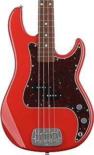 $1499 » G&L Fullerton Deluxe LB-100 Bass Guitar - Fullerton Red
