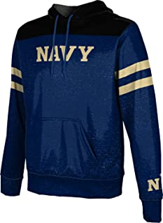 United States Naval Academy University Men's Pullover Hoodie, School Spirit Sweatshirt (Game Time)