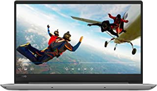 Lenovo Ideapad 81F500F-WAX Laptop, Intel Core i7-8550U, 15.6 Inch, 1TB HDD + 128GB SSD, 12GB RAM, 4 GB, Windows 10, Eng-Ara KB, Grey