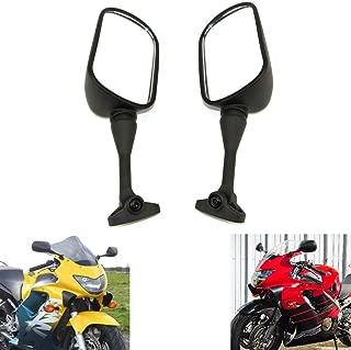 MZS Motorcycle Mirrors Rear View compatible Honda CBR 600 CBR600 F4 F4i 1999-2006/ CBR954RR 2002-2003/ RC51 RVT1000R 2000-2006
