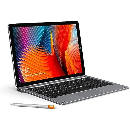 【2021 NEWモデル】CHUWI タブレットHi10 X 10.1インチ 2イン1 キーボード別売 Windows 10搭載 大容量 6GB+128GB N4120 4コア 1920*1080フル HD タブレット 16:9 IPS ディスプレイ 4K ビデオ 2.4G/5G WIFI/ BT5.1 Type-C USB3.0 Micro HD ノートPC 1年品質保証