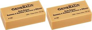 General Pencil 136EBP Artist Gum Eraser- (Parent) 2 Pack